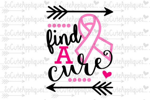 570x379 Breast Cancer Awareness Svg Socuteappliques Silhouette