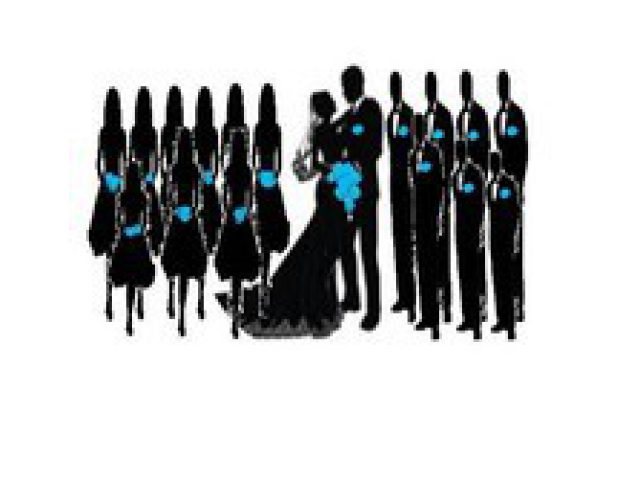 640x480 Wedding Reception Entrance Songs Lovely Wedding Party Silhouette