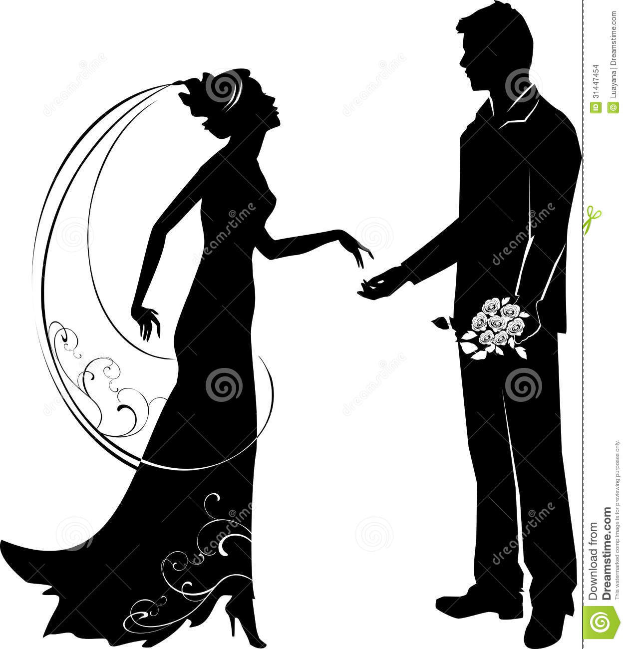 1256x1300 Bride And Groom Outline Clipart
