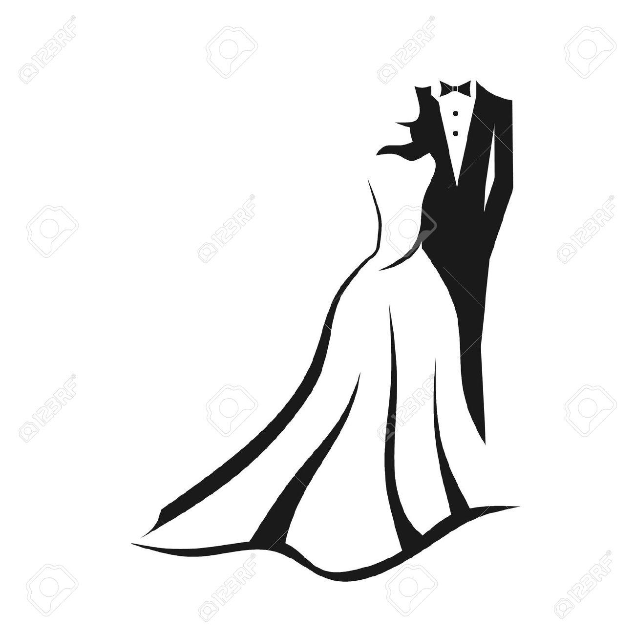 1300x1300 Groom Clipart Modern Bride