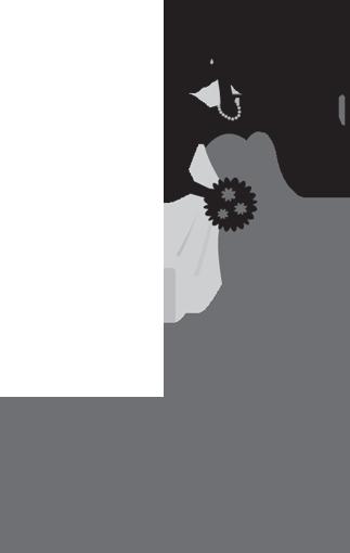 Bridal Silhouette Clip Art