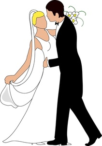 211x300 Shadows Clipart Bride And Groom