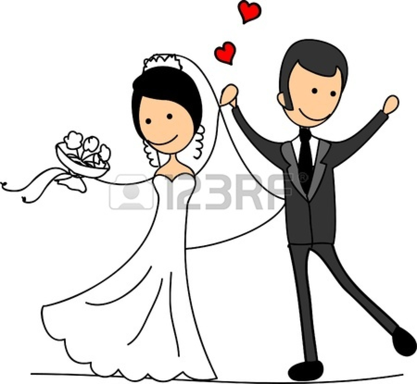 1350x1245 Clip Art Bride And Groom Pictures Clip Art