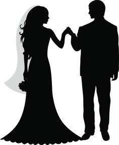 236x286 Free Bride And Groom Silhouette Clip Art