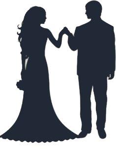 236x303 Cute Bride And Groom Silhouette Stencilek