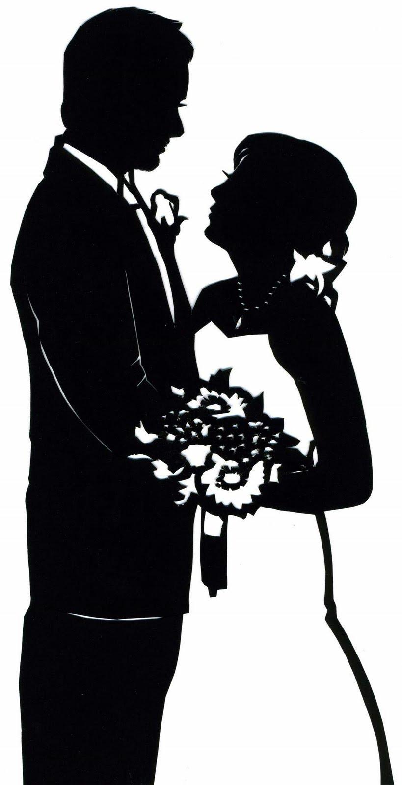 819x1600 Wedding Silhouette Clip Art