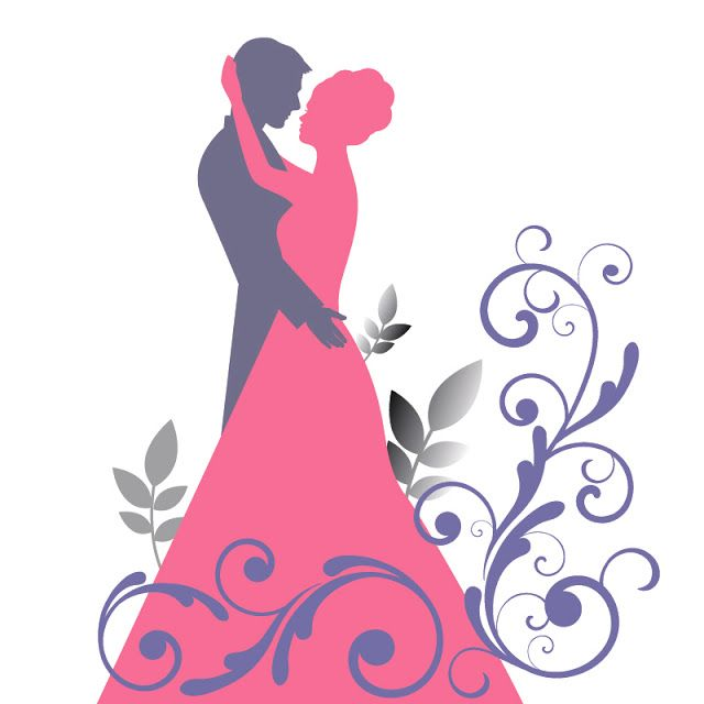 bride groom silhouette clip art at getdrawings com free for rh getdrawings com clipart mariage coeur clip art marriage certificates