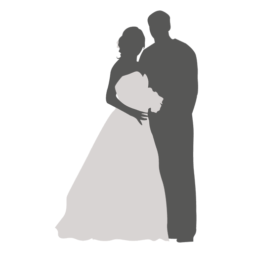 512x512 Bride Groom Romancing Silhouette 2