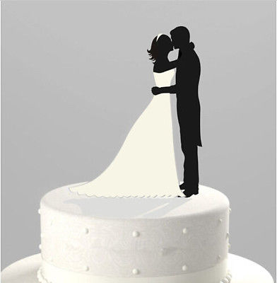392x400 Bride And Groom Cake Toppers