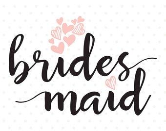 340x270 Will You Be My Bridesmaid Svg Diy Bridal Party Diy