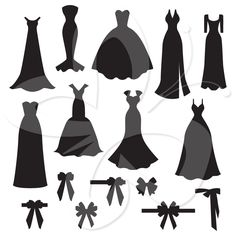 236x236 Dress Silhouettes Bridal Clipart Of A Silhouette Of A Beautiful