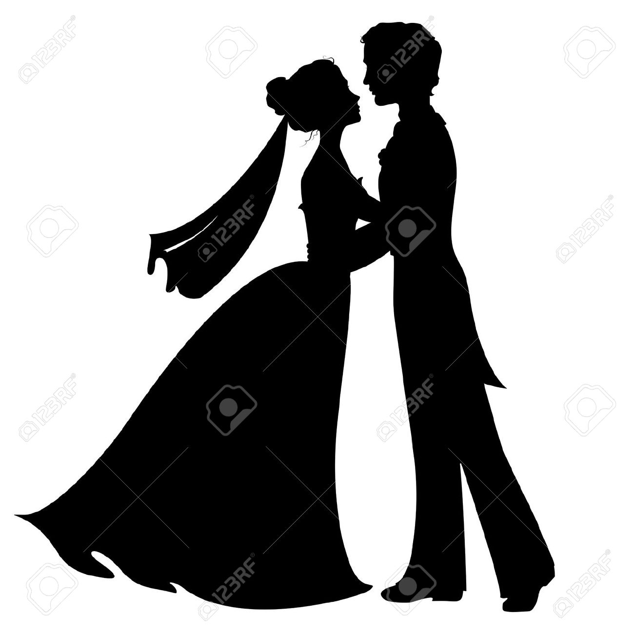 1300x1300 Wedding Silhouette Images