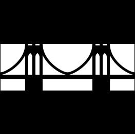 263x262 Brooklyn Bridge Silhouette Free Svg Cricut
