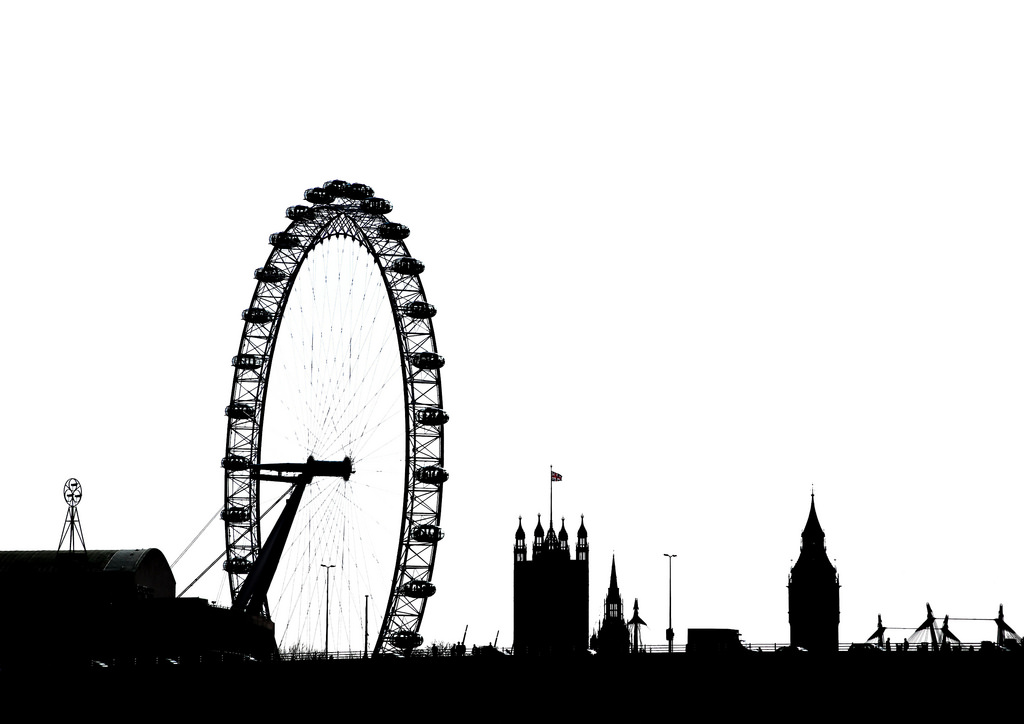 1024x724 London Silhouette By Simon Amp His Camera There Is Colour