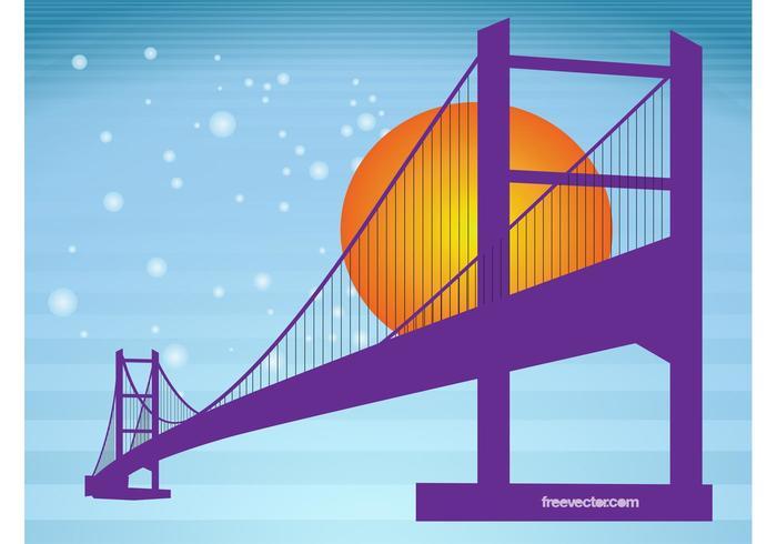700x490 Bridge Silhouette