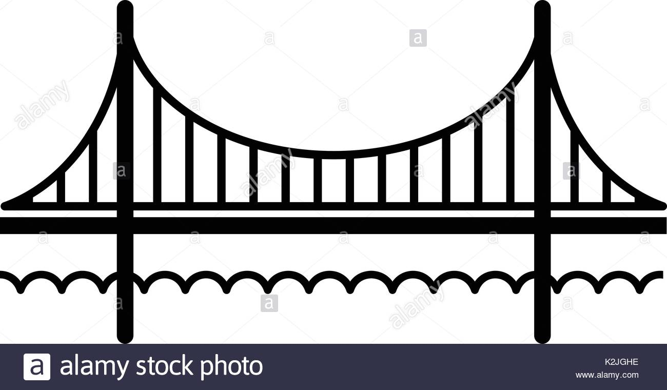 1300x760 Golden Gate Bridge Stock Vector Images