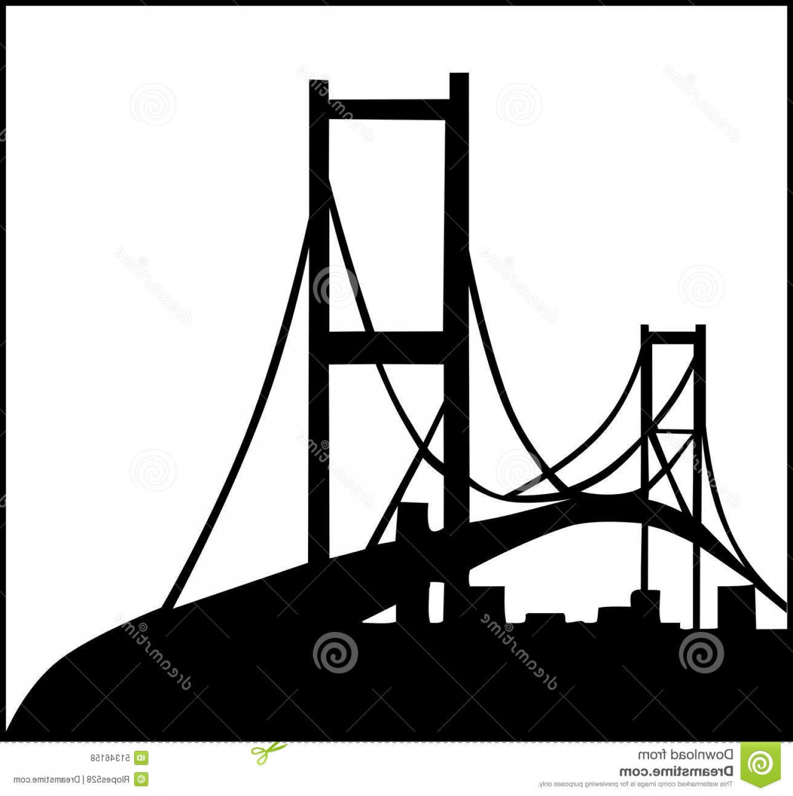 1560x1566 Stock Illustration Civil Engineering Logo Illustration Bridge