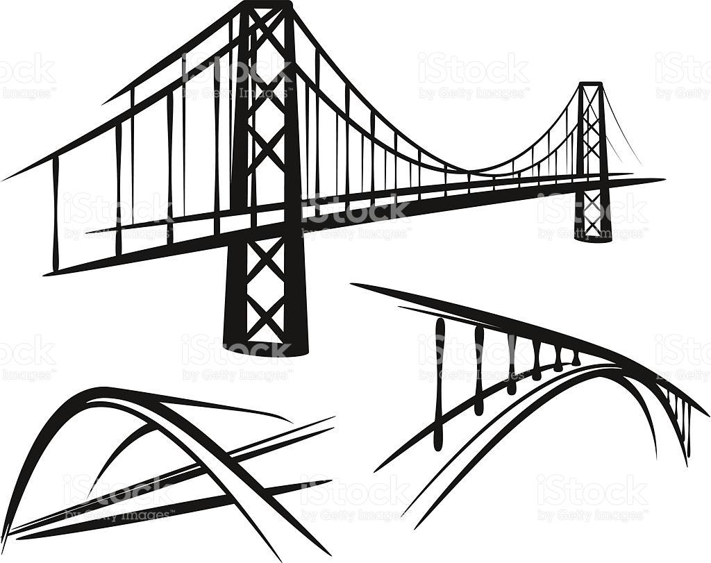 1024x811 Simple Illustration With A Set Of Bridges Bridges