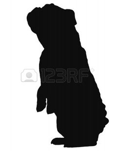 236x310 English Bulldog Silhouette Craft Projects To Do!!!!