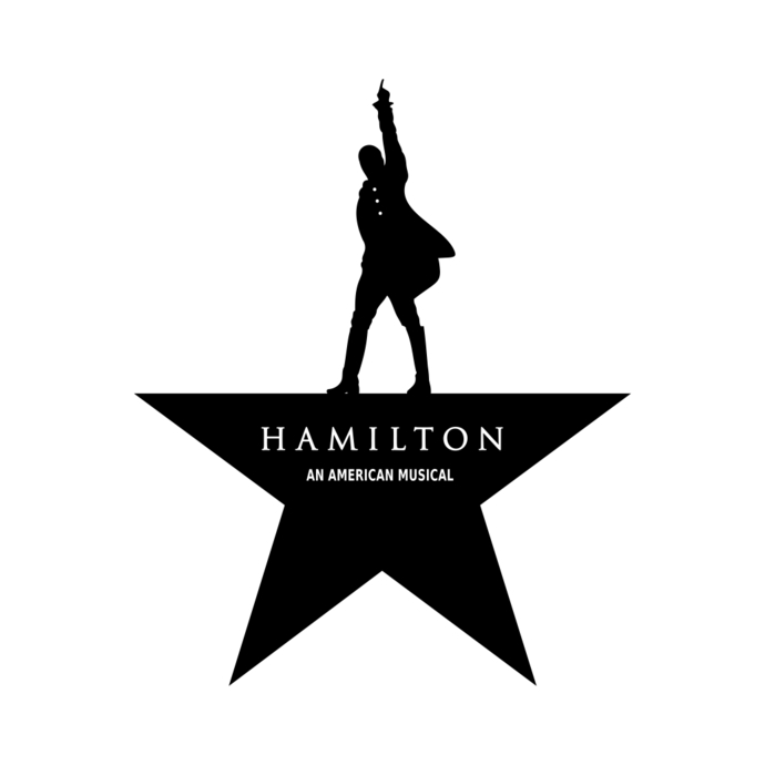 690x690 Hamilton Logo Broadway Musical Graphics By Vectordesign On Zibbet