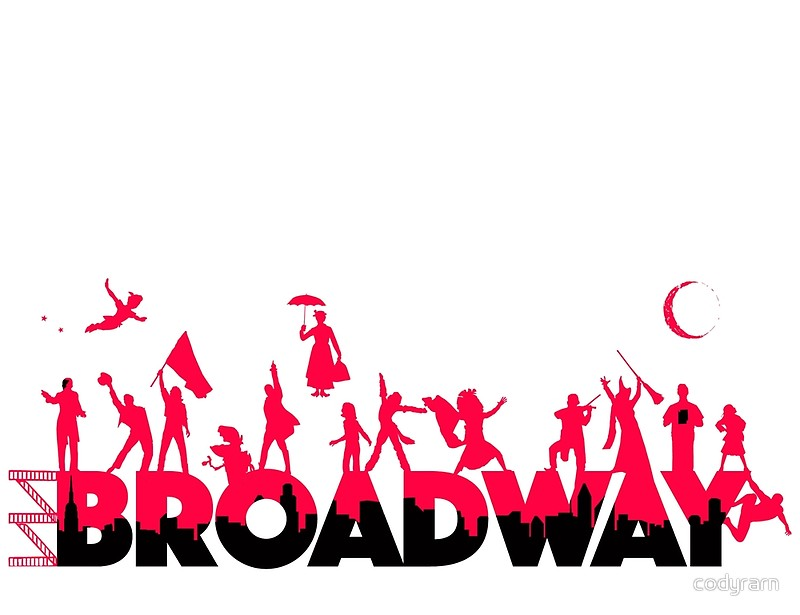 800x615 A Celebration Of Broadway Art Prints By Codyrarn Redbubble