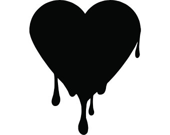 340x270 Broken Heart Svg Etsy