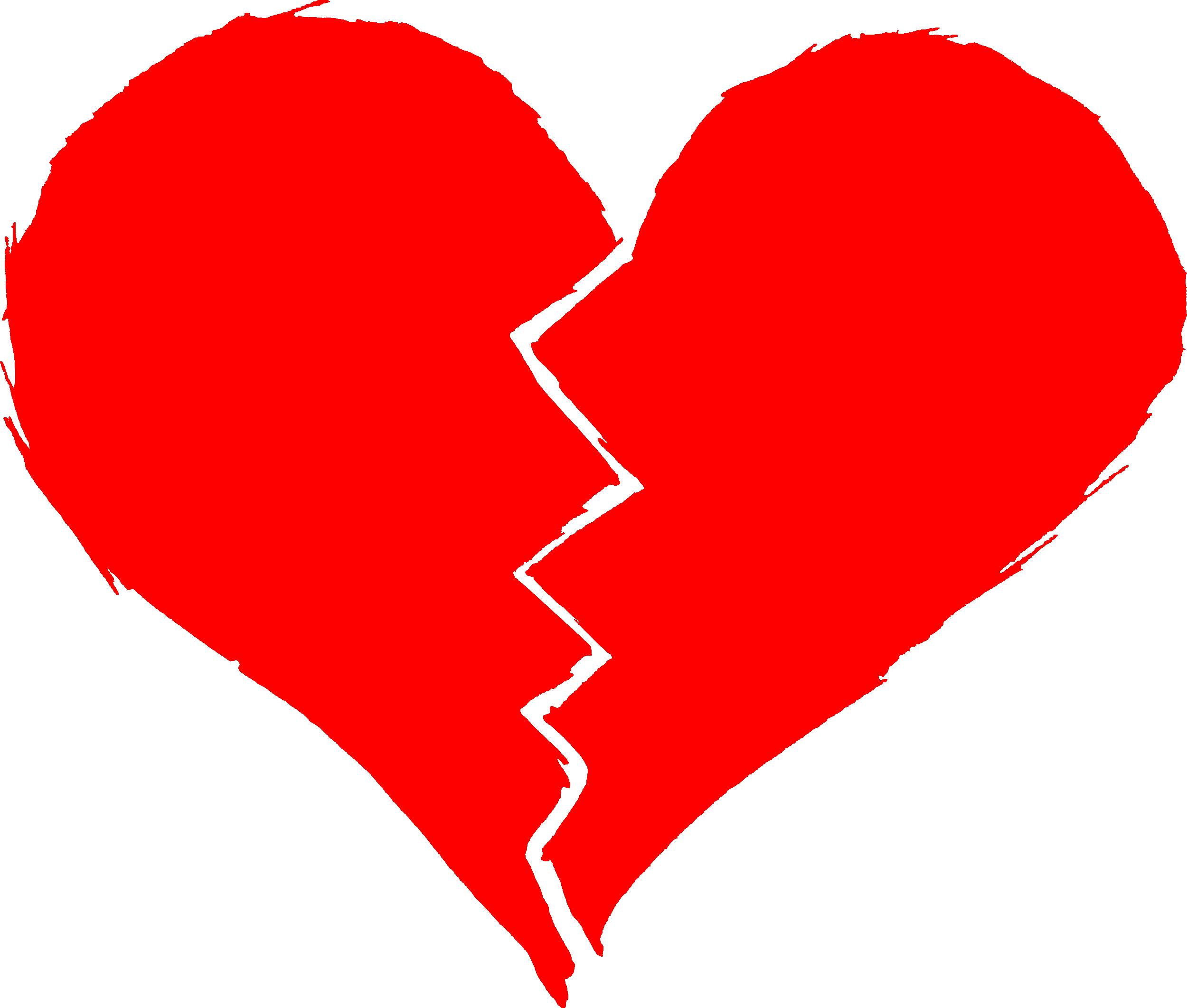 2500x2123 Broken Heart (Png Transparent)