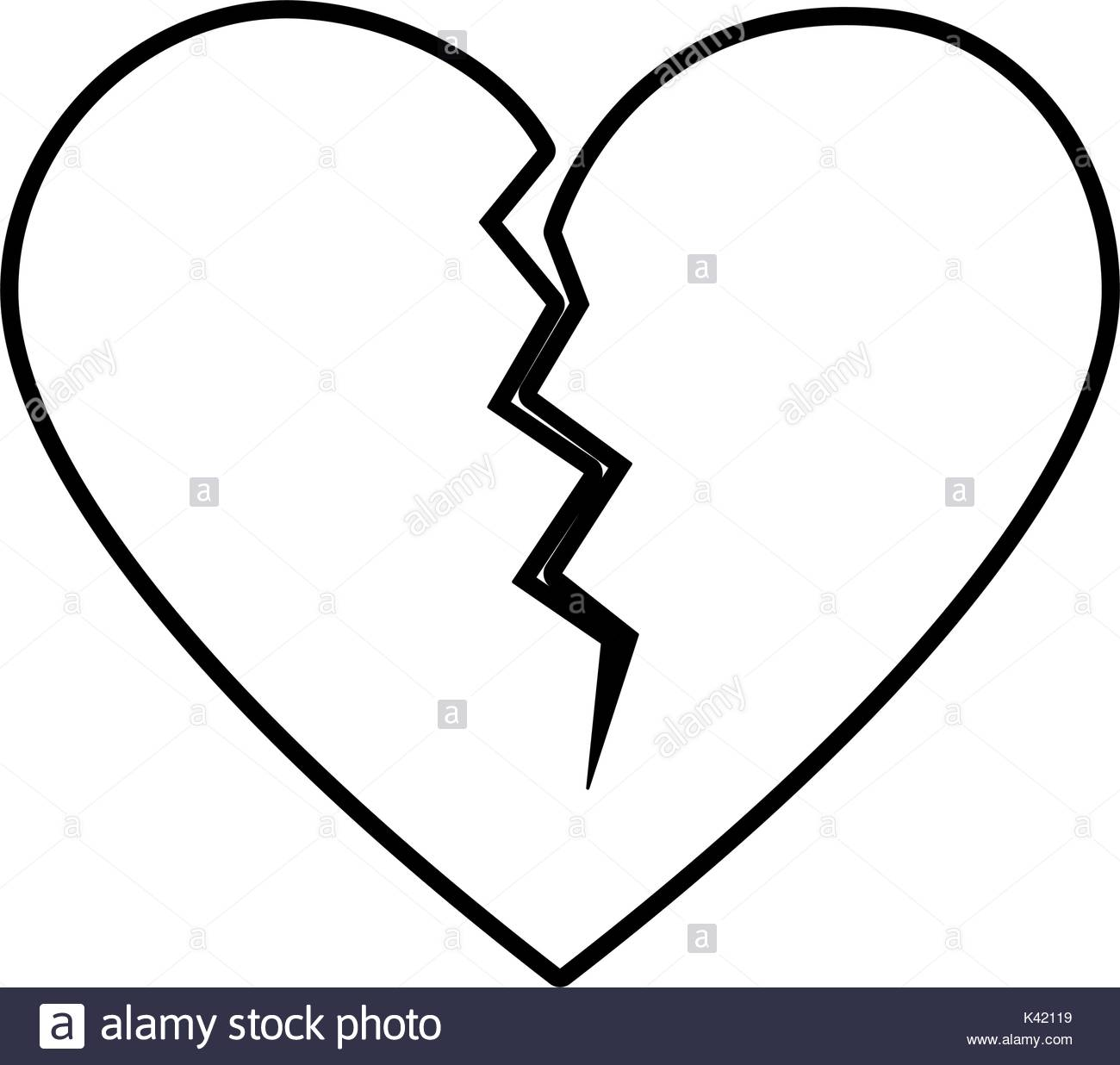1300x1236 Broken Heart Black And White Stock Photos Amp Images