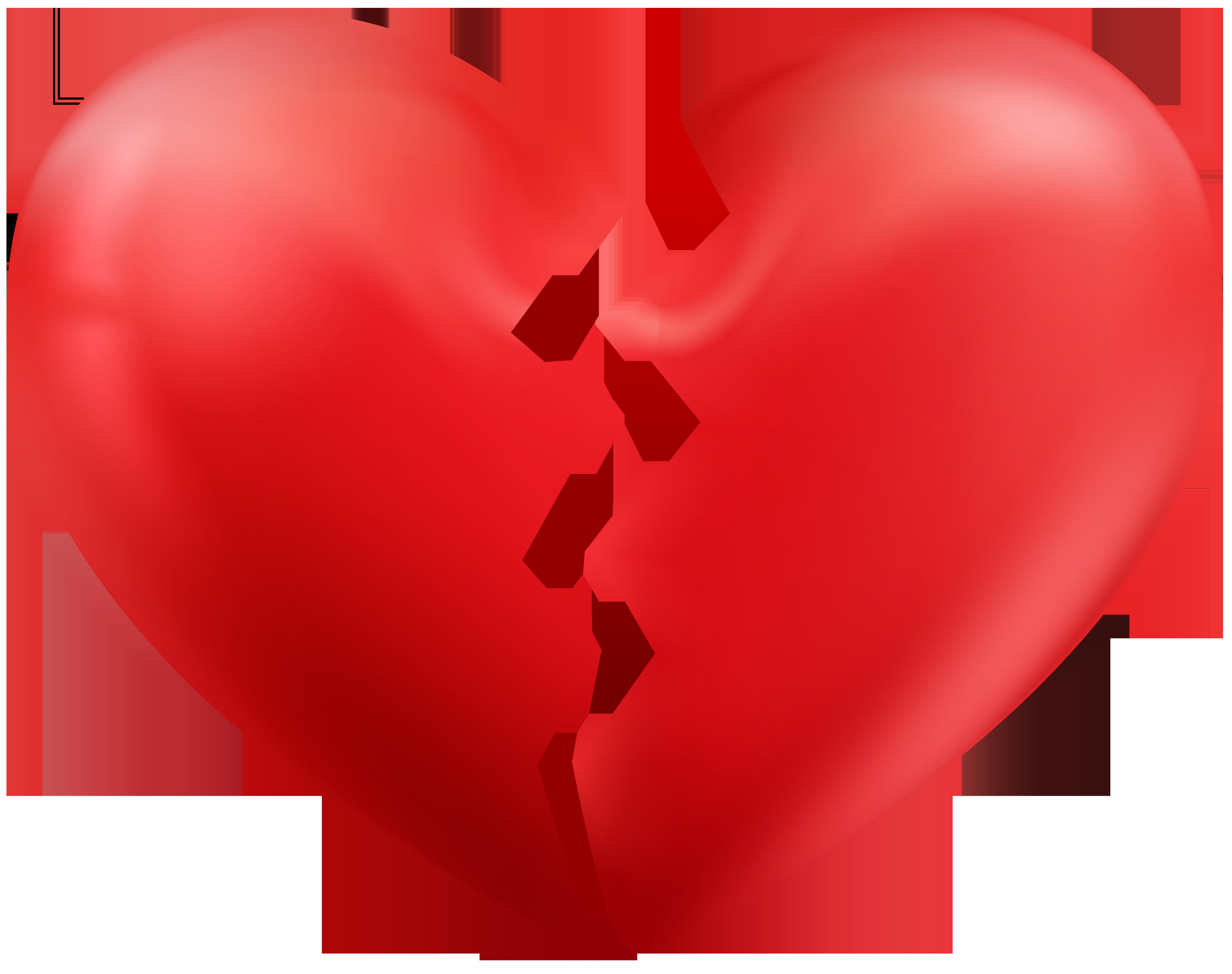 8000x6328 Broken Heart Transparent Png Clip Art Imageu200b Gallery