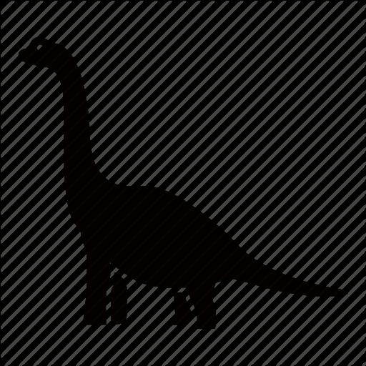 Brontosaurus Silhouette
