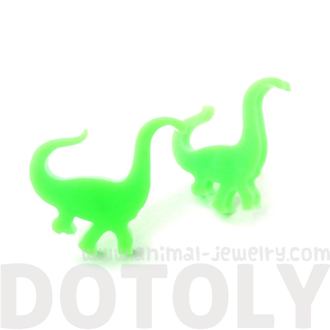 1100x1100 Large Brontosaurus Dinosaur Silhouette Shaped Laser Cut Stud