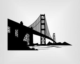 340x270 Bridge Silhouette Etsy