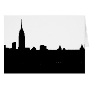 307x307 New York City Silhouette Gifts Amp Gift Ideas Zazzle Uk