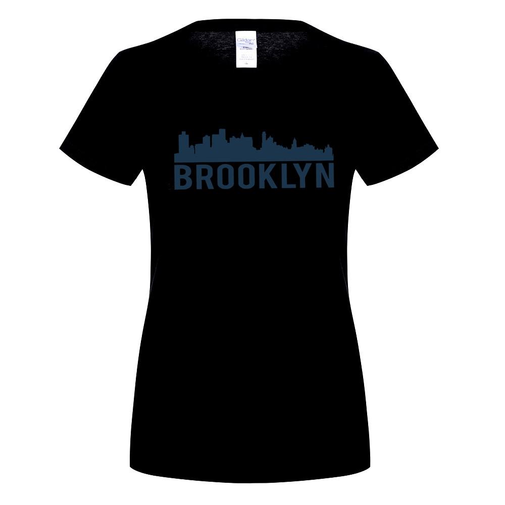 1000x1000 Gildan Brooklyn City Skyline Silhouette Urban Nyc Fashion Novelty