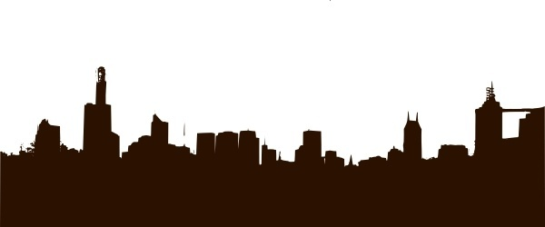 600x250 Hollywood Skyline Graphicspeople Free Vector Download (131 Free