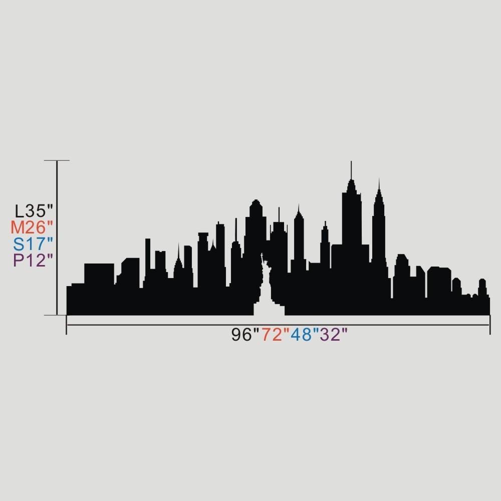 1000x1000 New York Skyline Vector Free Download