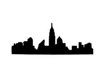 340x270 Nyc Silhouette Etsy