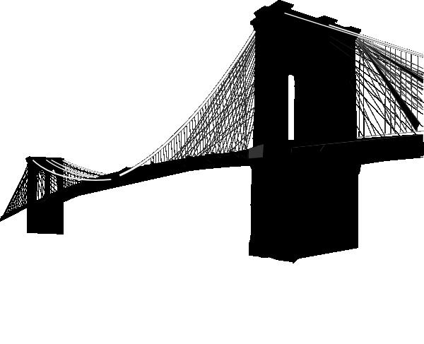 600x487 Brooklyn Bridge Only Clip Art