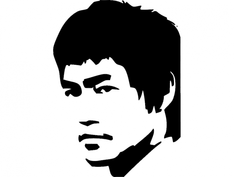 800x606 Bruce Lee Dxf File Free Download