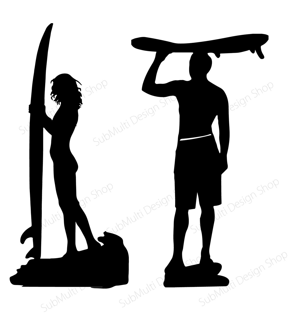 1200x1348 Surfers Silhouette Skateboard Silhouette Vector Surfers