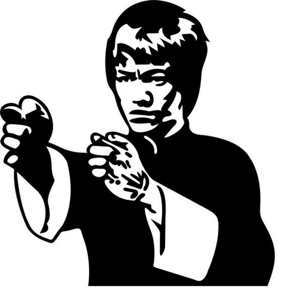 600x591 Bruce Lee