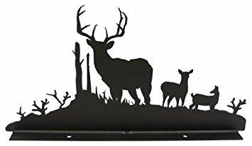 355x206 Buck, Doe Amp Deer Mailbox Topper Home Amp Kitchen