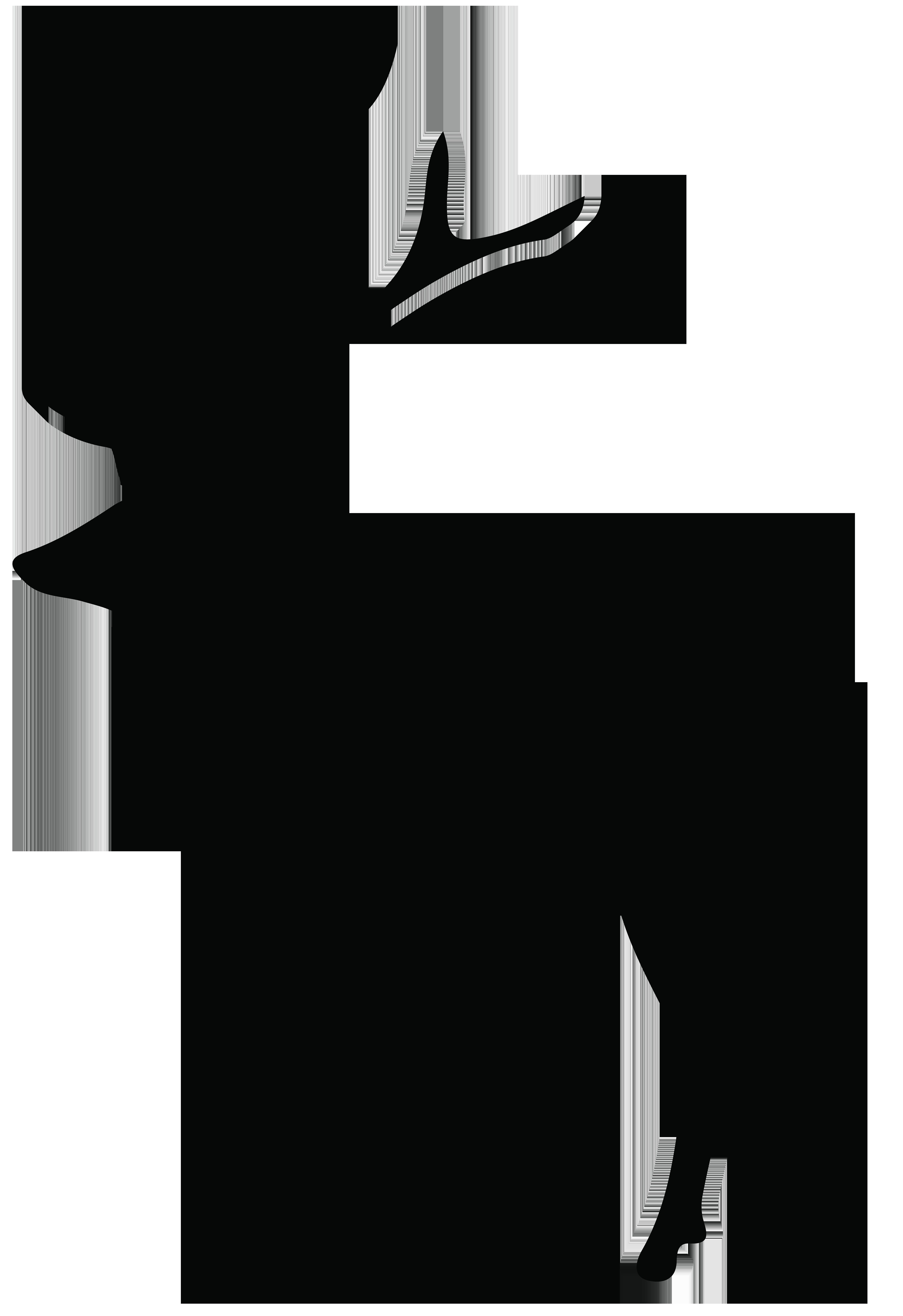 5487x8000 Deer Silhouette Png Transparent Clip Art Imageu200b Gallery