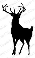 139x229 Impression Obsession Buck Silhouette