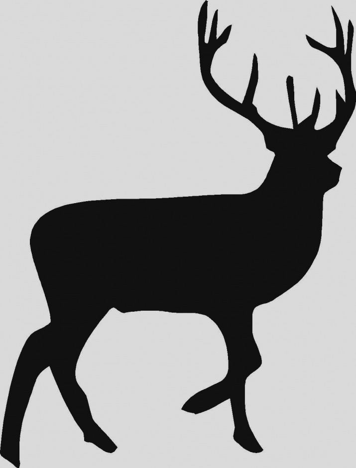 715x940 Pictures Of Deer Silhouette Clip Art Free Download