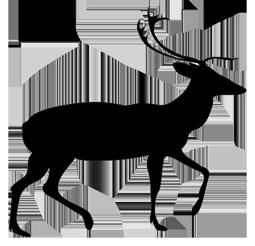 827x798 Deer Silhouette Clip Art Packsilhouette Clip Art