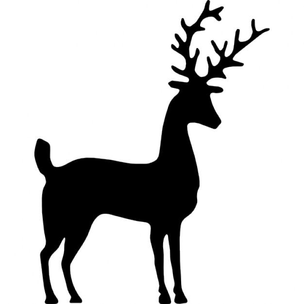 626x626 List Of Synonyms And Antonyms Of The Word Deer Sillouette