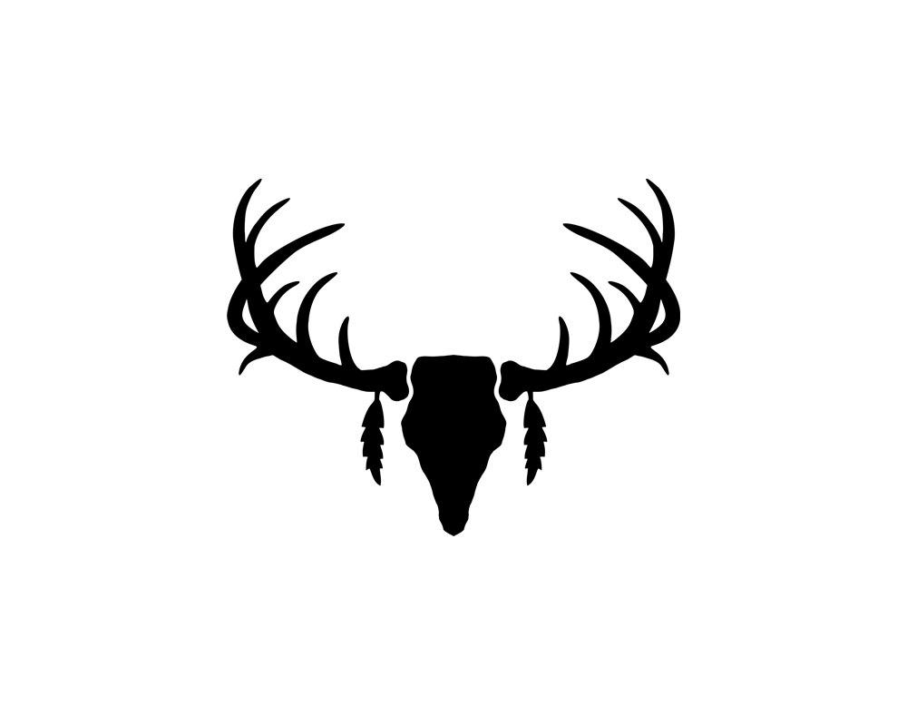 1000x788 Best Deer Skull Clip Art