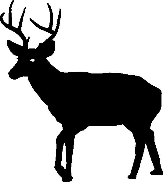 534x597 Buck Silhouette Clip Art