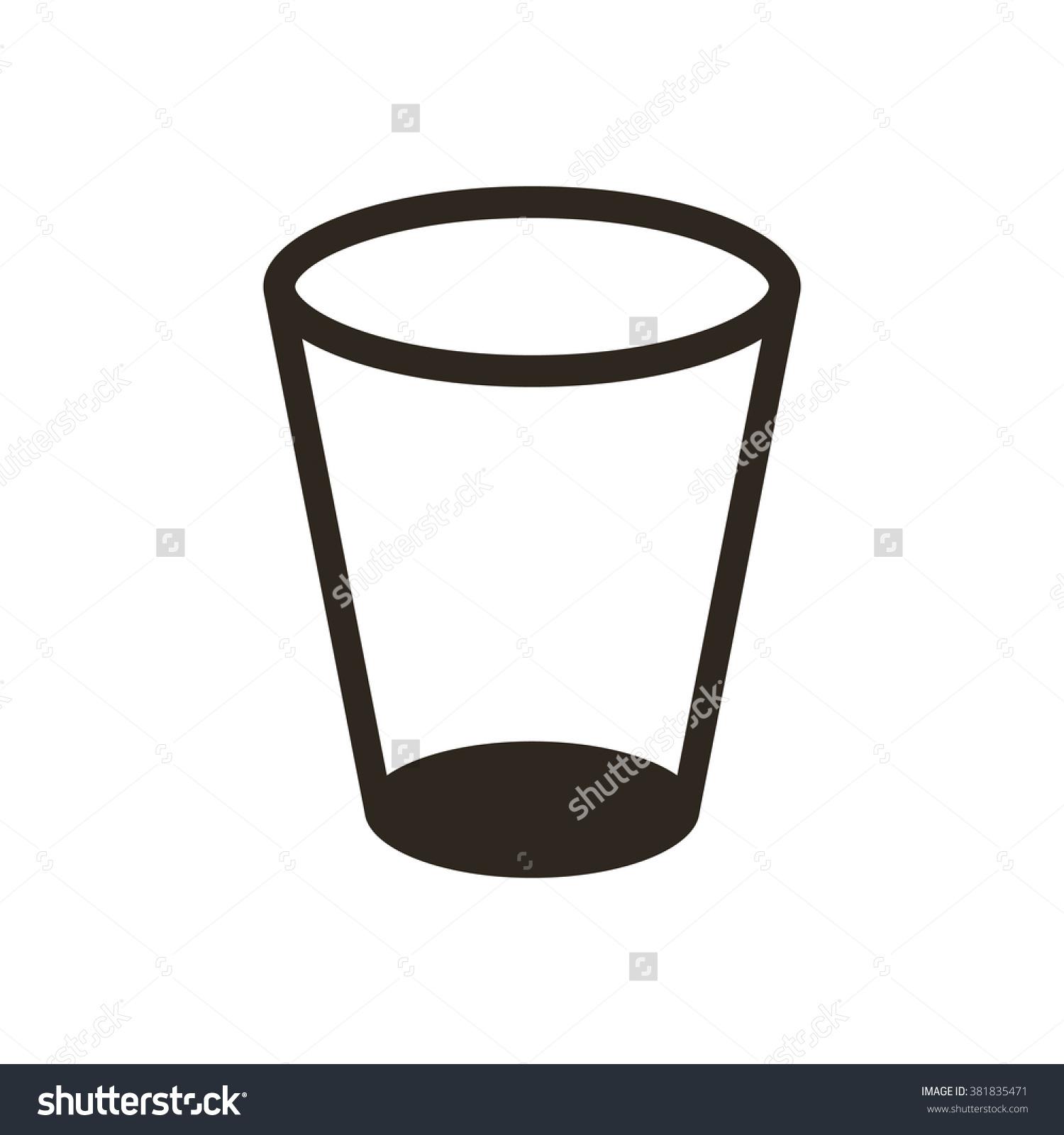 1500x1600 Glass Silhouette Clipart